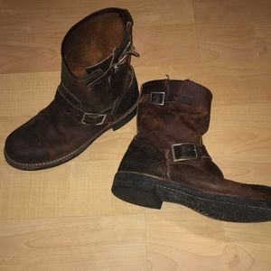 Red Wing Short Engineer Boots